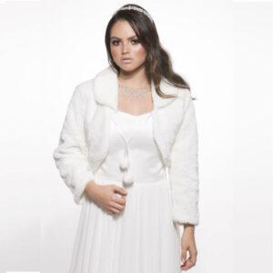 מעיל לבן לכלה